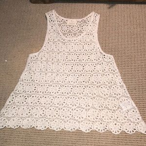 Urban Outfitters Cotton lace festival top